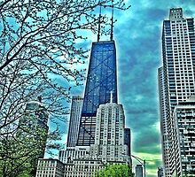 Handcock from Lake Shore Drive by David Sabat