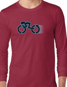 Grid Cyclists Only V2 (With Trail) Long Sleeve T-Shirt