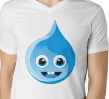 Be water Mens V-Neck T-Shirt