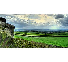 View from Almscliff Crag #1. Photographic Print