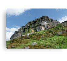 Almscliff Crag #3. Canvas Print