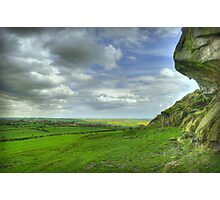 View from Almscliff Crag #2 Photographic Print