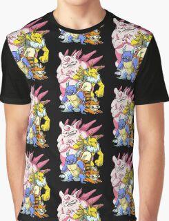 Pokemon Aren't Cute in Battle Graphic T-Shirt