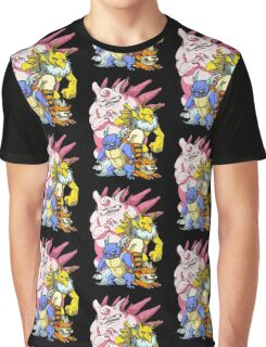 Pokemon Aren't Cute in Battle Graphic T-Shirt