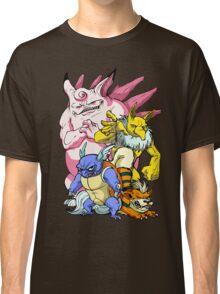 Pokemon Aren't Cute in Battle Classic T-Shirt