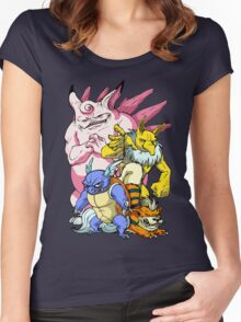 Pokemon Aren't Cute in Battle Women's Fitted Scoop T-Shirt