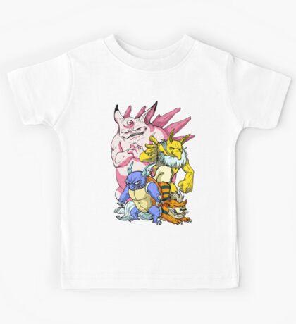 Pokemon Aren't Cute in Battle Kids Tee