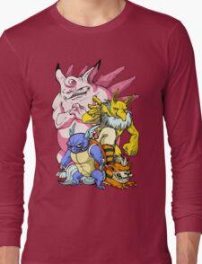 Pokemon Aren't Cute in Battle Long Sleeve T-Shirt
