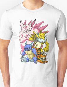 Pokemon Aren't Cute in Battle Unisex T-Shirt