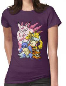 Pokemon Aren't Cute in Battle Womens Fitted T-Shirt