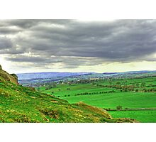 View from Almscliff Crag #3. Photographic Print