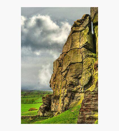 Almscliff Crag Profile #1 Photographic Print