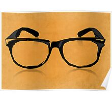 Geek Glasses Poster