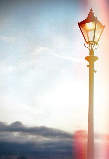 Lomo Lamp post by cavan michaelides