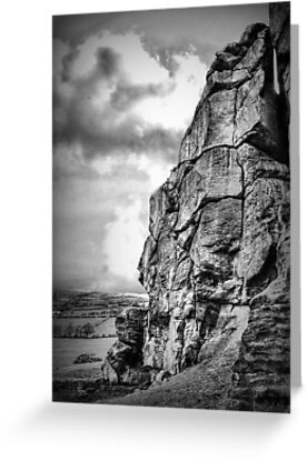Almscliff Crag Profile #2 by Colin Metcalf