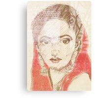 Sherazade Canvas Print