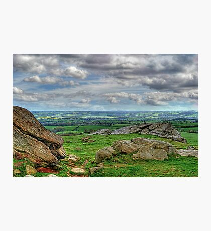 View from Almscliff Crag #4 Photographic Print
