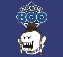 Doctor Boo - 4th Doctor by happyweasel