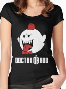 Doctor Boo - 11th Doctor Women's Fitted Scoop T-Shirt