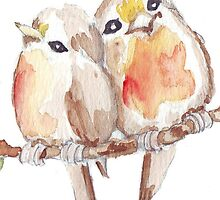 Two Little Birds 2 by Maree Clarkson