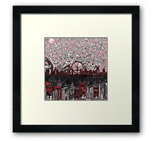 London skyline abstract 4 Framed Print