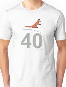 Jumping Kangaroo Unisex T-Shirt