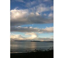 Cloud over Puget Sound, Washington Photographic Print