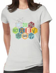 MATH! Womens Fitted T-Shirt