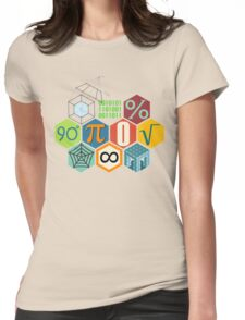 MATH! Womens Fitted T-Shirt