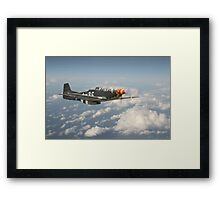 P51D Mustang - Old Crow Framed Print
