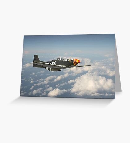 P51D Mustang - Old Crow Greeting Card