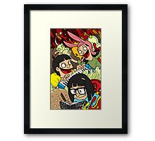 The Belcher Kids Framed Print