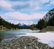 Bow River by Aaron Fisher