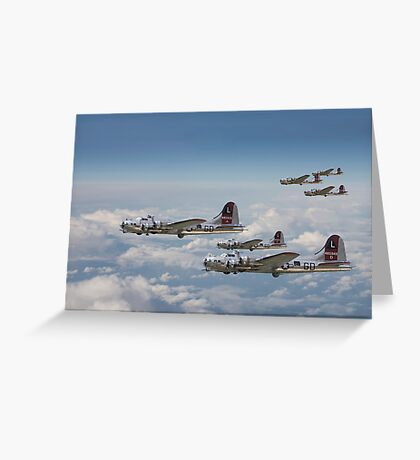 B17- 381st Group Outbound Greeting Card