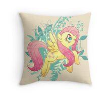 Flutter Nature Throw Pillow