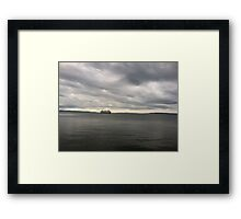 Above water and closer to the sky Framed Print