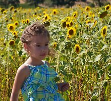 Sunflower Girl by Melodee Scofield