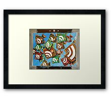 RSS Competition Framed Print