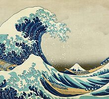 Great Wave off Kanagawa by monsterplanet