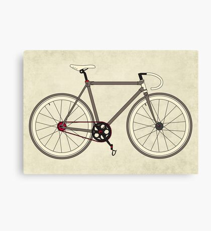 Road Bicycle Canvas Print