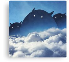Beyond the Clouds Canvas Print