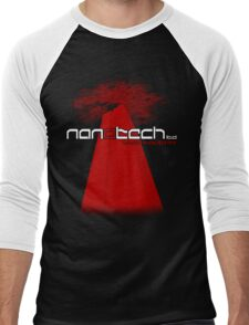 "Warp Industry ""Tower"" Design Men's Baseball ¾ T-Shirt"