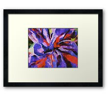 Color My Insecurity Framed Print