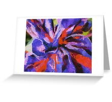Color My Insecurity Greeting Card