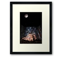 Big Ideas Under The Moon Light Framed Print