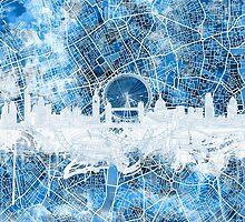 London skyline 2 by BekimART