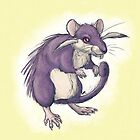 Pocket Rattata by SquishyMew