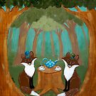Woodland Fox Tea Party by Ryan Conners