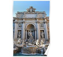 Trevi Fountain Rome Italy Poster