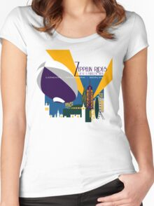 Zeppelin Rides are Just a Universe Away Women's Fitted Scoop T-Shirt